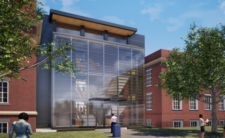 Grehan Building for Interdisciplinary Engineering