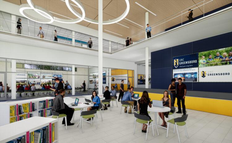 Walter Clinton Jackson Library Master Plan